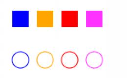 canvas样式和颜色
