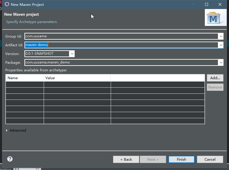 Eclipse+Maven+SpringMVC环境搭建