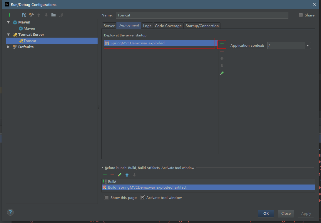 IDEA+Maven+SpringMVC环境搭建