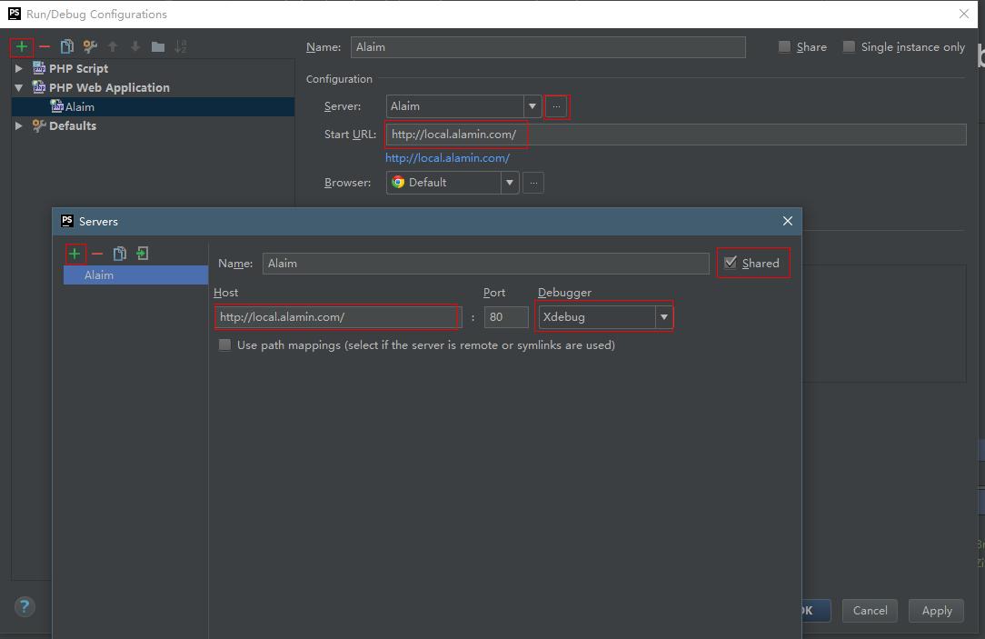 PHPStorm搭建PHP单步调试
